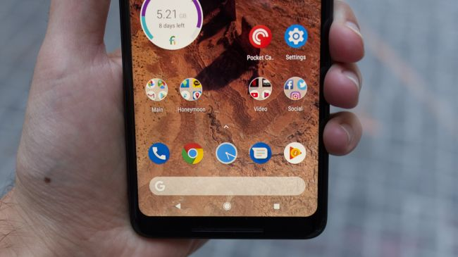 Android P - Интерфейс