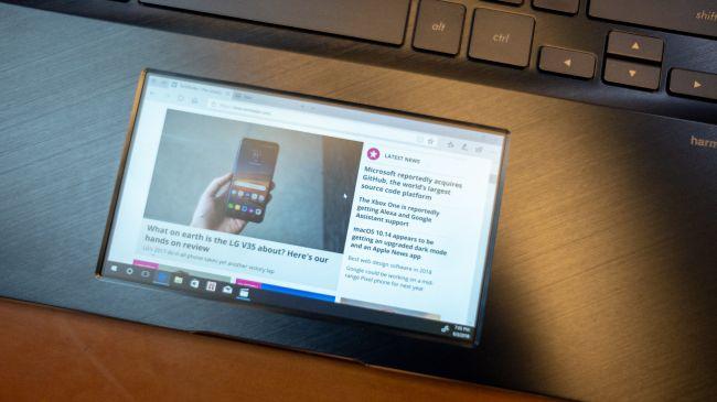 Второй экран Asus ZenBook Pro UX580