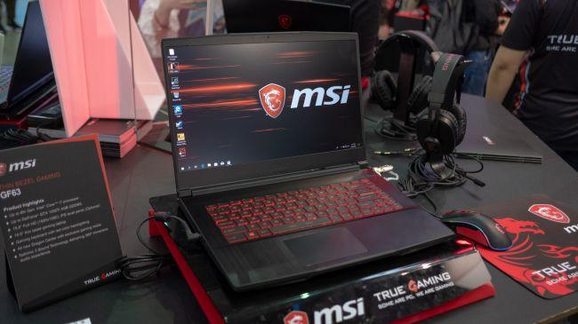 Игровой ноутбук MSI GF63