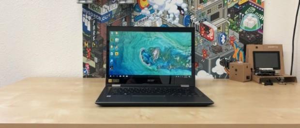 Обзор Acer Spin 3