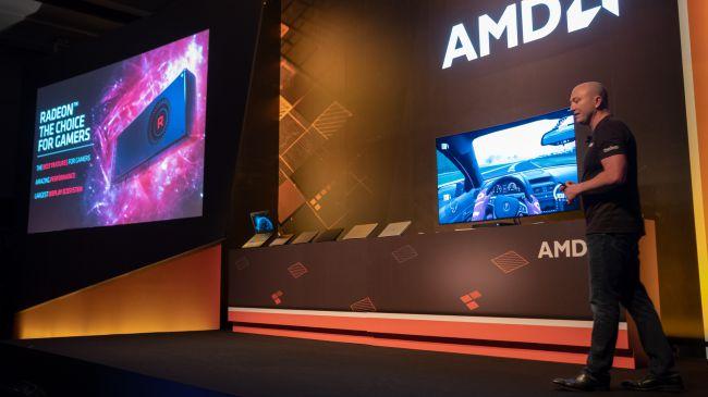 Презентация AMD Radeon RX Vega 56 Nano