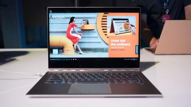 Лучший ноутбук 13 дюймов - Lenovo Yoga 920