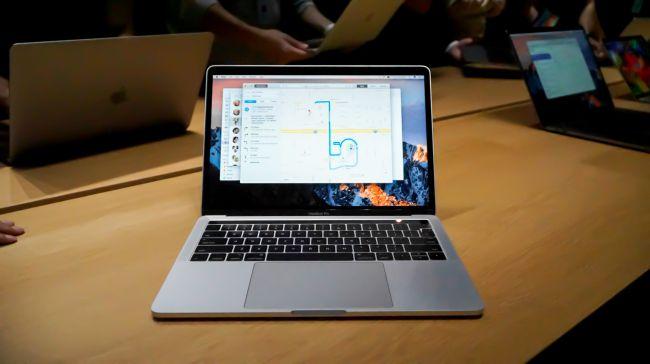 Лучший ноутбук 13 дюймов - MacBook Pro with Touch Bar