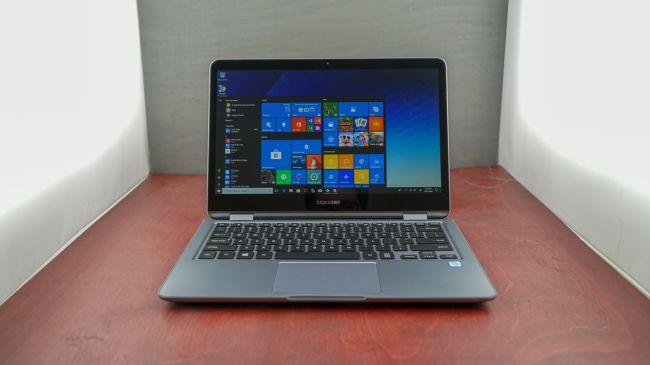 Лучший ноутбук 13 дюймов - Samsung Notebook 7 Spin