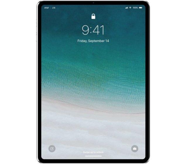 Концепция iPad Pro (2018)