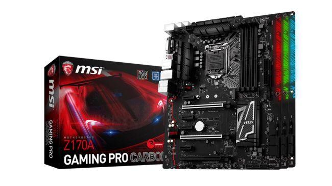 Материнская плата для майнинга - MSI Z170A Gaming Pro Carbon