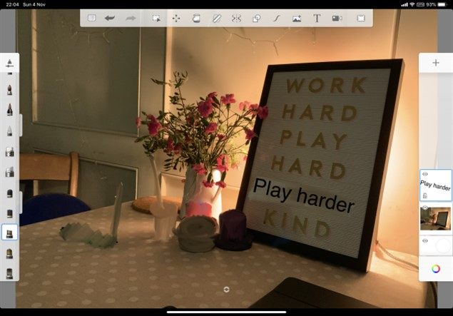 Интерфейс iPad Pro 11 (2018)