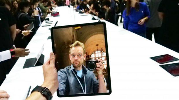 Портретный режим на iPad Pro 2018