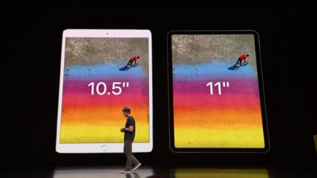 Сравнение iPad Pro 2018 против iPad Pro 2017