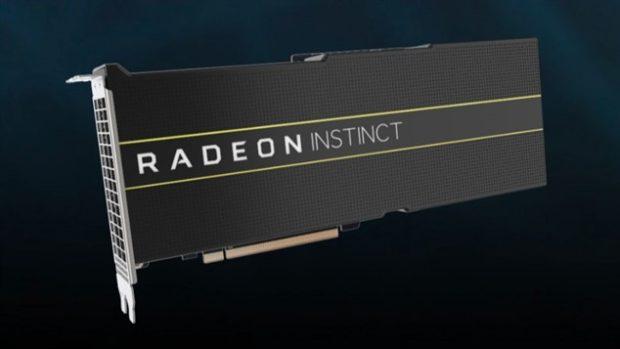 Видеокарты Radeon Instinct