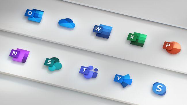 Новые иконки Windows 10 от Microsoft