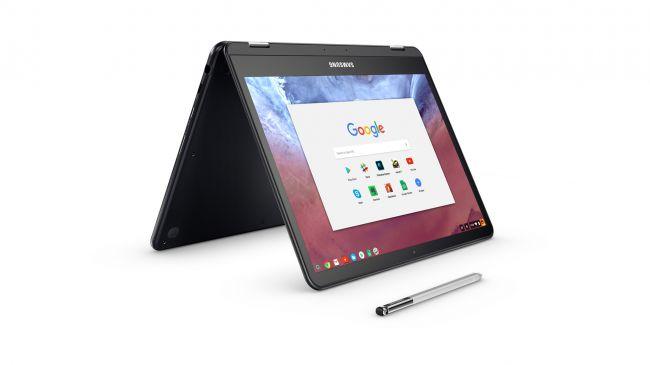 Сенсорный ноутбук - Samsung Chromebook Pro