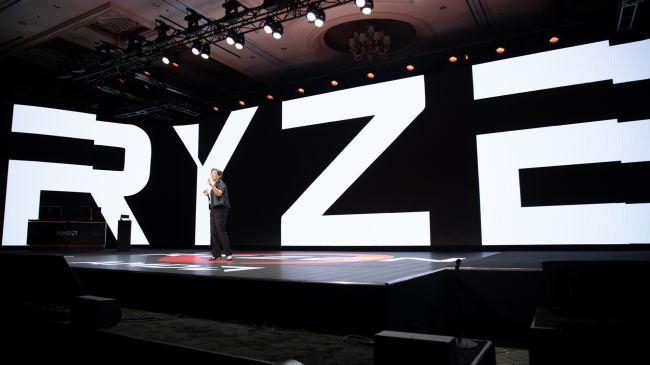 AMD Ryzen со сцены