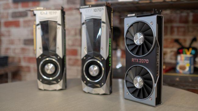 Видеокарты хх70 из поколения GTX и RTX