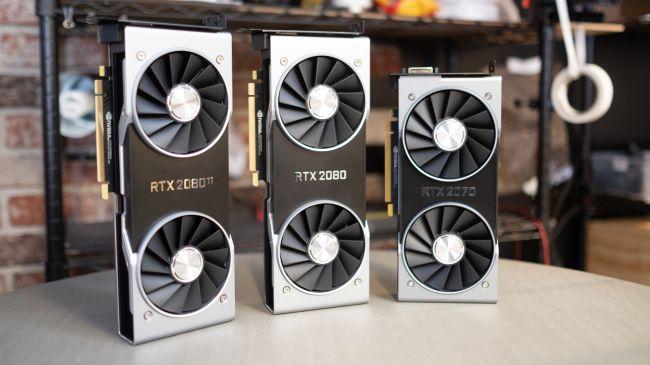 Видеокарты RTX - 2070, 2080 и 2080 Ti