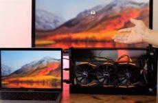 Внешняя видеокарта с Mac и MacBook