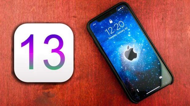 Обновление iOS 13