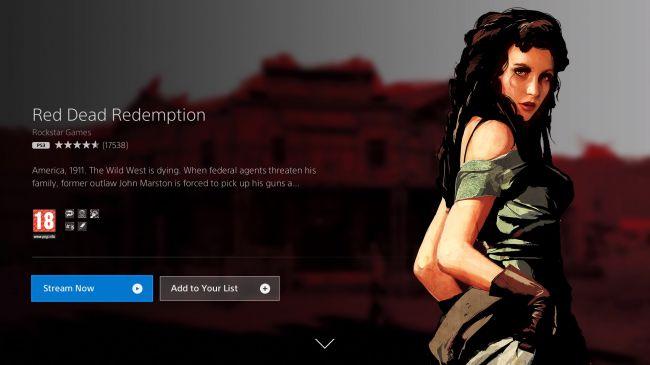 Потоковая игра в Red Dead Redemption с PS Now