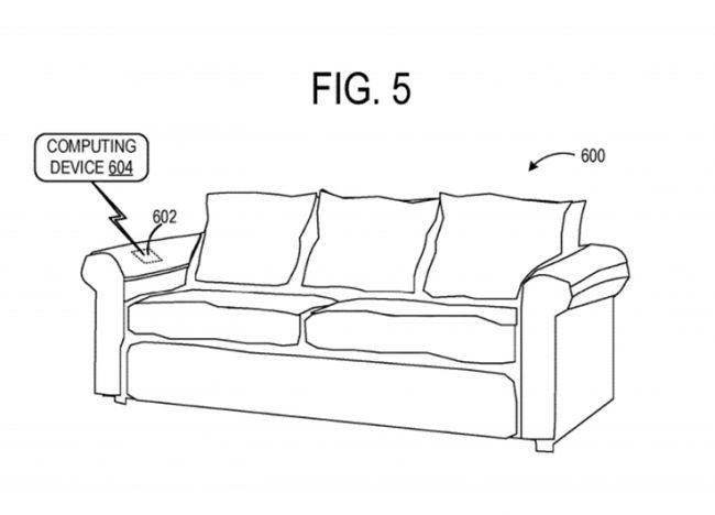 Умная ткань на диванах