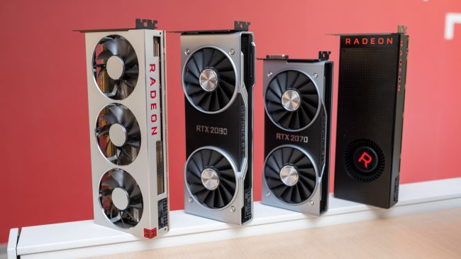 AMD Radeon VII и конкурирующие видеокарты