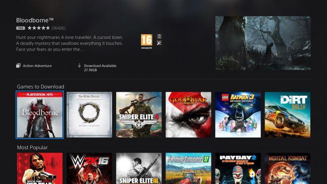 Bloodborne в PlayStation Now