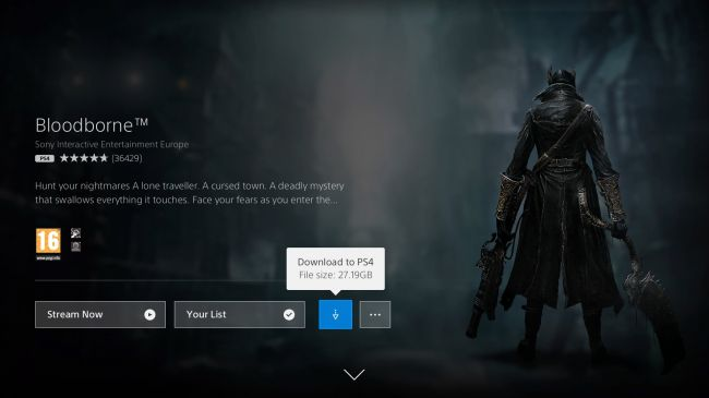 Bloodborne на ПК через PlayStation Now