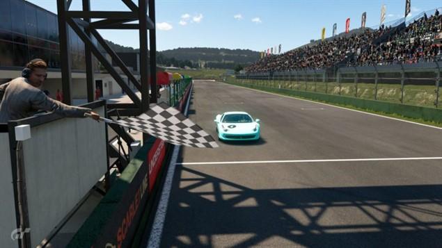 Gran Turismo Sport - Финиш