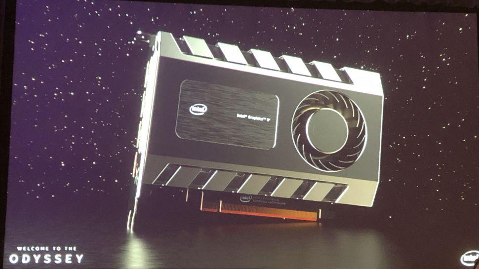 Видеокарта Intel