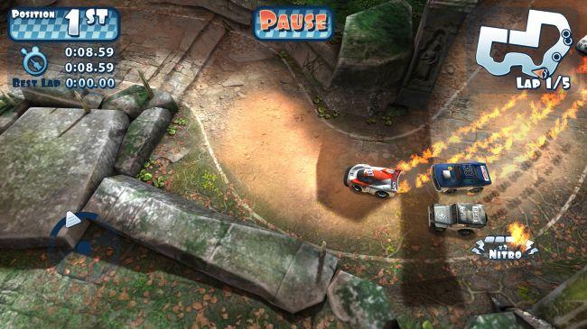Гонки на планшет - Mini Motor Racing