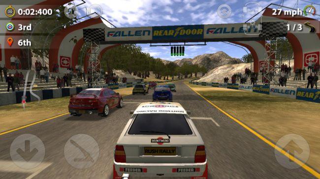 Гонки на планшет - Rush Rally 2