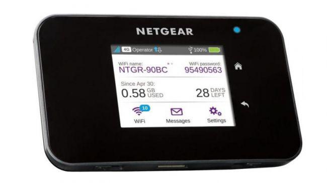 Мобильная точка доступа Netgear AC810-100EUS Aircard