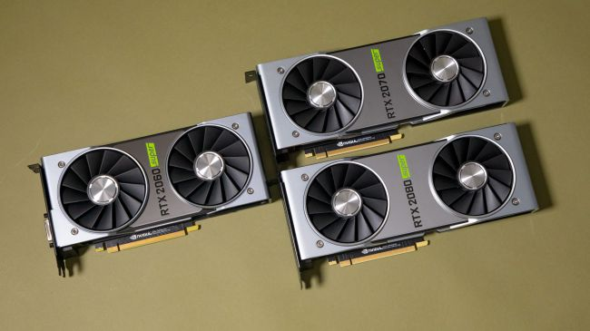 Видеокарты Nvidia GeForce RTX 2080 Super, 2070 Super и 2060 Super