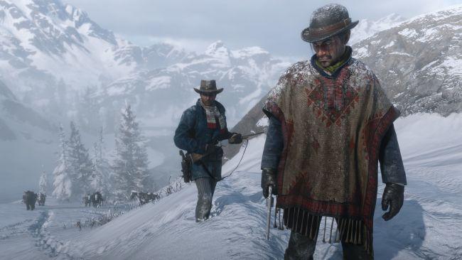 Лучшие игры - Red Dead Redemption 2