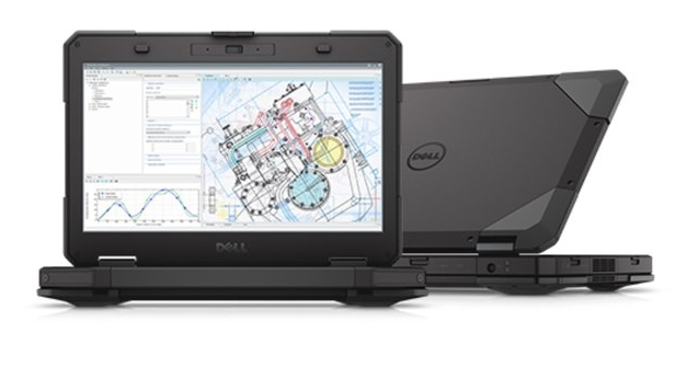 Защищенный ноутбук - Dell Latitude 14 Rugged