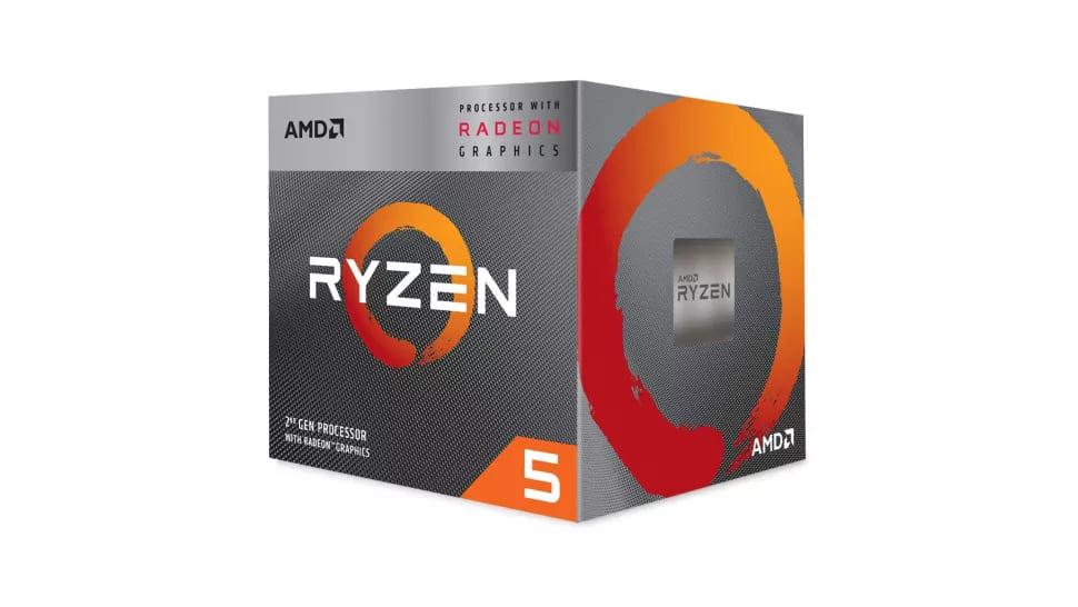 Лучший процессор - AMD Ryzen 5 3400G