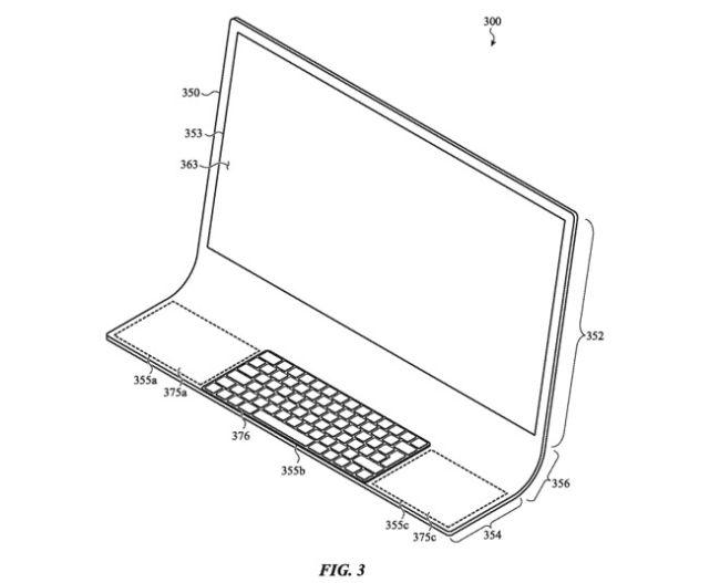 Патент Apple iMac (2020)