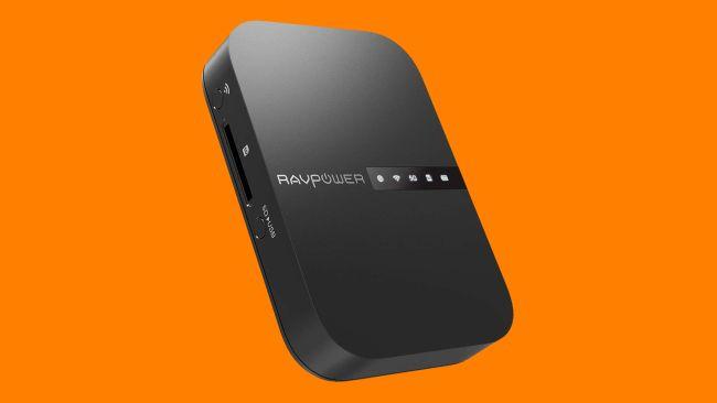 RAVPower FileHub Travel Router AC750