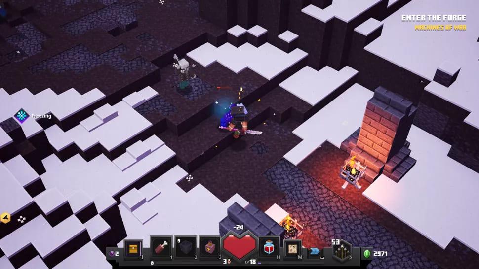 Геймплей Minecraft Dungeons