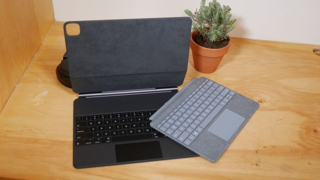 Magic Keyboard и Surface Type Cover