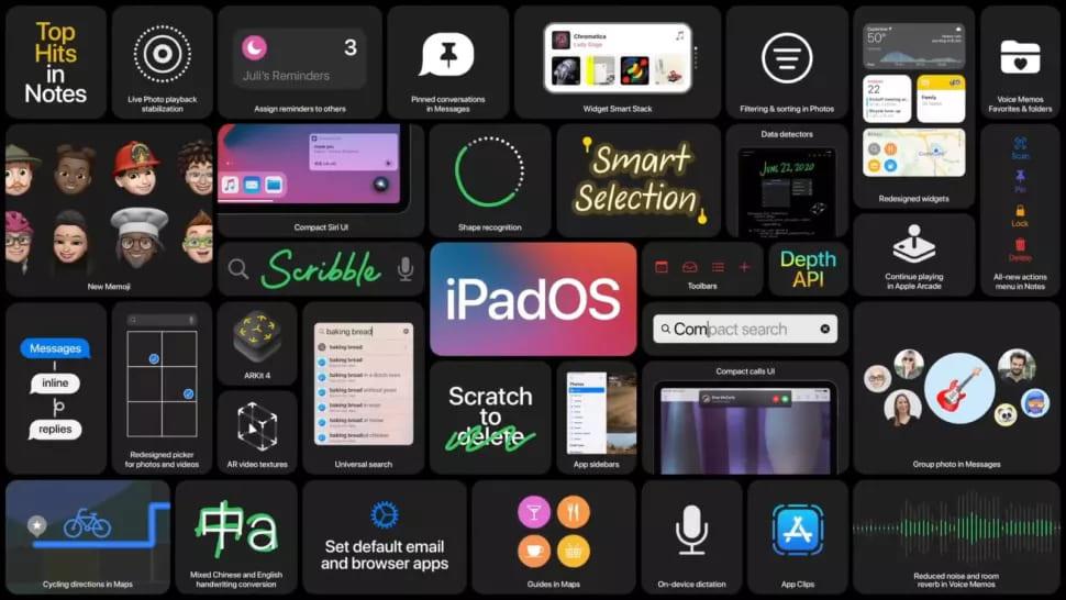 Обновление iPadOS 14