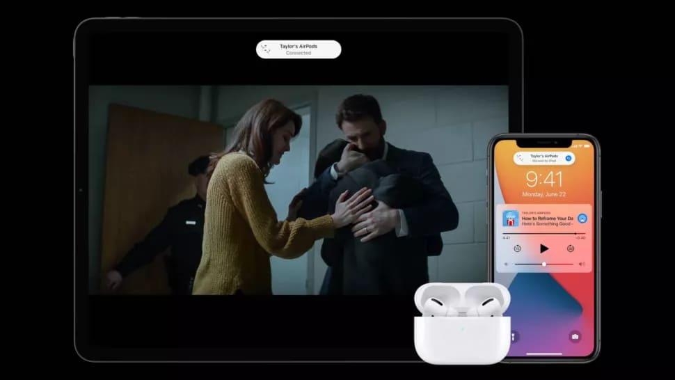 AirPods и iPad