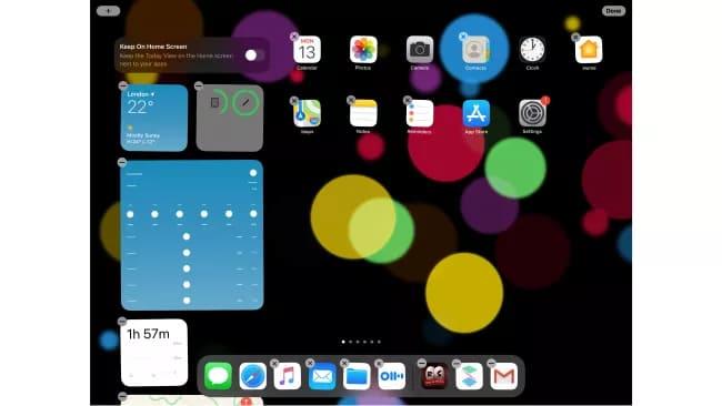 iPadOS 14 Beta - Виджеты и их работа