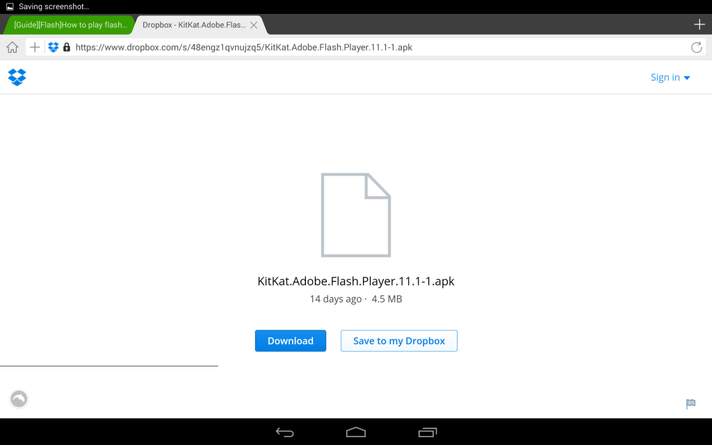 Как установить установить Adobe Flash Player на Android ?
