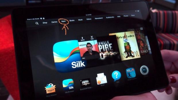 Amazon Kindle Fire HDX 8.9 обзор