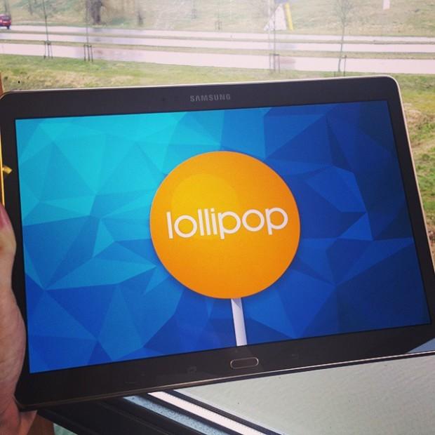 Samsung Galaxy Tab S 10.5 с Android 5 Lollipop