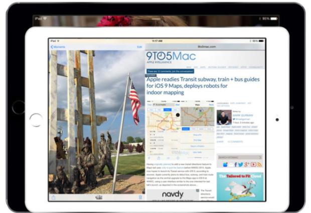 Раздельный экран для iPad