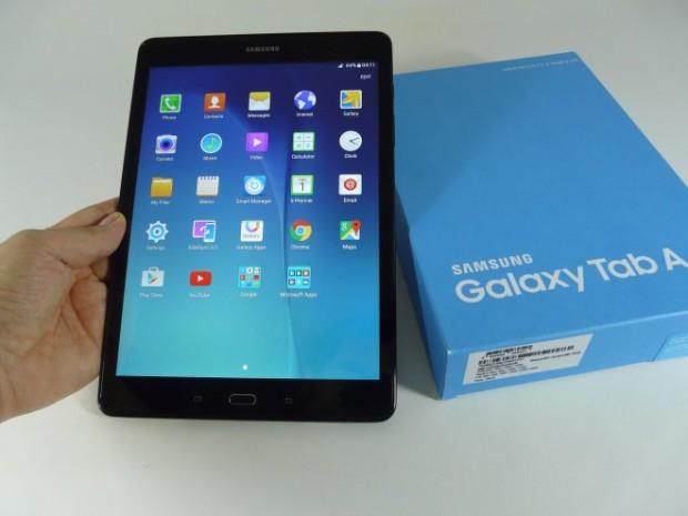 Распаковка Samsung Galaxy Tab A 9.7