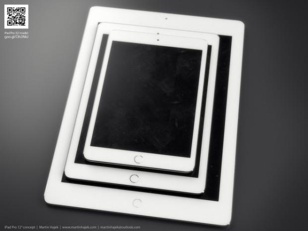 Рендер Apple iPad Pro