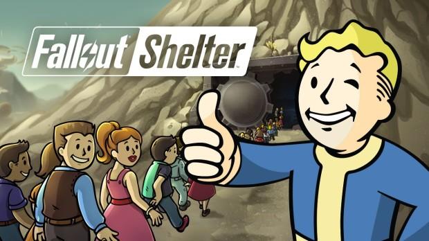 Игры на планшет. Fallout Shelter