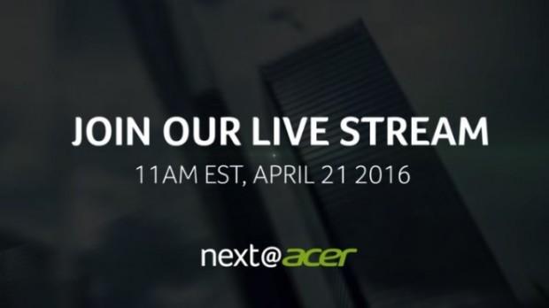 Тизер компании Acer